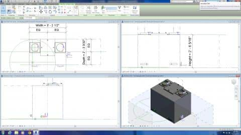 CAD/Revit Symbols for Smoke Zapper Series